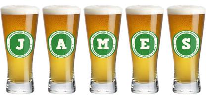 James lager logo