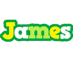James soccer logo