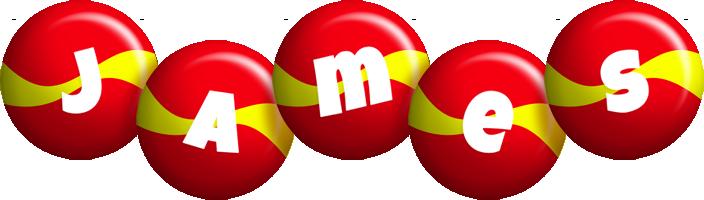 James spain logo