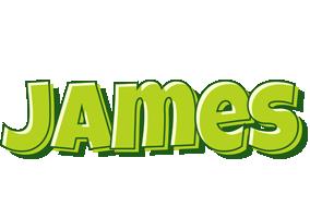 James summer logo