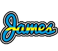 James sweden logo