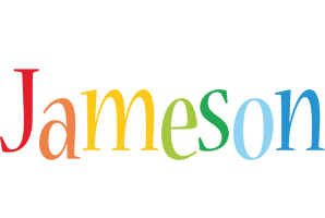 Jameson birthday logo