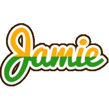 Jamie banana logo