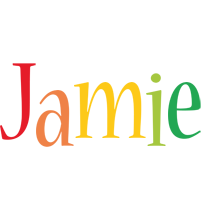 Jamie birthday logo