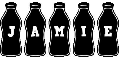 Jamie bottle logo