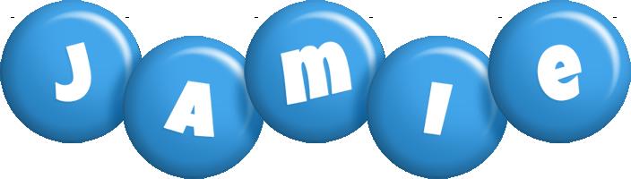 Jamie candy-blue logo