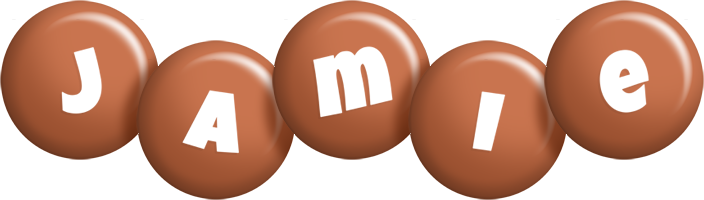 Jamie candy-brown logo