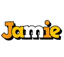 Jamie cartoon logo