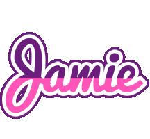 Jamie cheerful logo