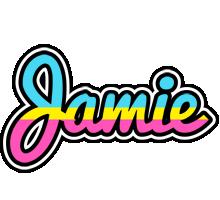Jamie circus logo