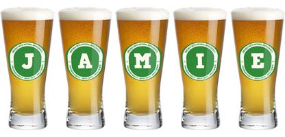 Jamie lager logo