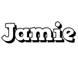 Jamie snowing logo