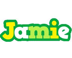 Jamie soccer logo