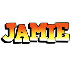 Jamie sunset logo