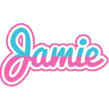 Jamie woman logo