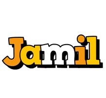 Jamil cartoon logo