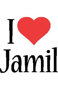 Jamil i-love logo