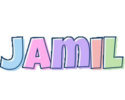 Jamil pastel logo