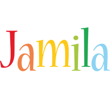 Jamila birthday logo
