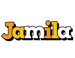 Jamila cartoon logo