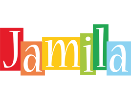 Jamila colors logo