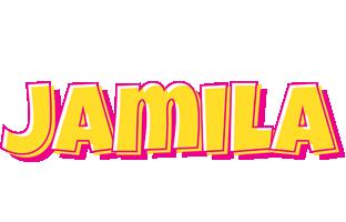 Jamila kaboom logo