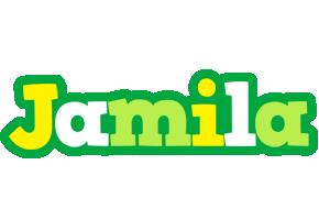 Jamila soccer logo