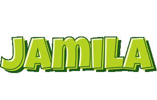 Jamila summer logo