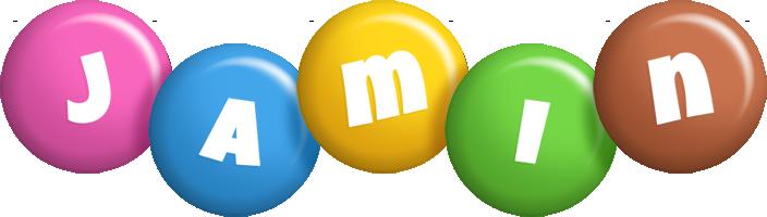 Jamin candy logo