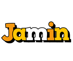 Jamin cartoon logo