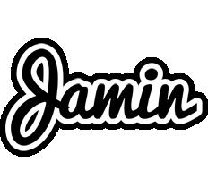 Jamin chess logo