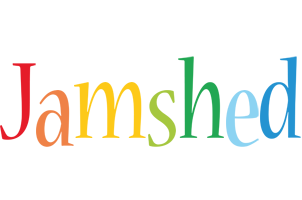 Jamshed birthday logo