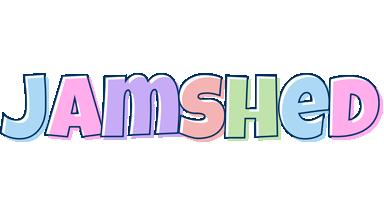 Jamshed pastel logo