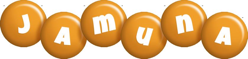 Jamuna candy-orange logo