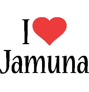 Jamuna i-love logo