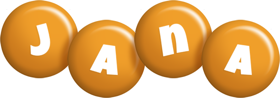 Jana candy-orange logo