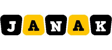 Janak boots logo