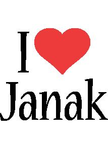 Janak i-love logo