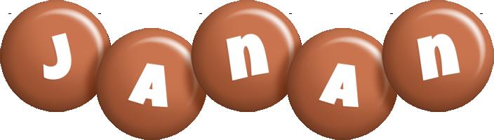Janan candy-brown logo