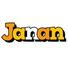 Janan cartoon logo
