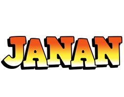 Janan sunset logo