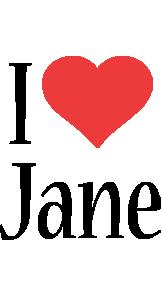 Jane i-love logo