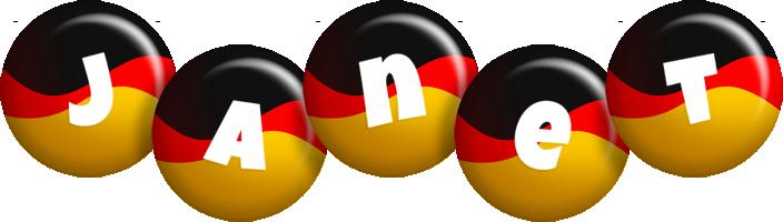 Janet german logo