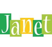 Janet lemonade logo