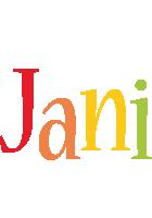 Jani birthday logo
