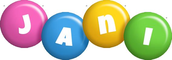 Jani candy logo