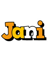 Jani cartoon logo