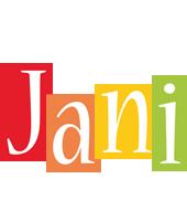Jani colors logo