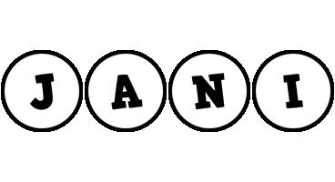 Jani handy logo