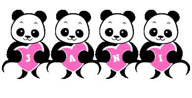 Jani love-panda logo